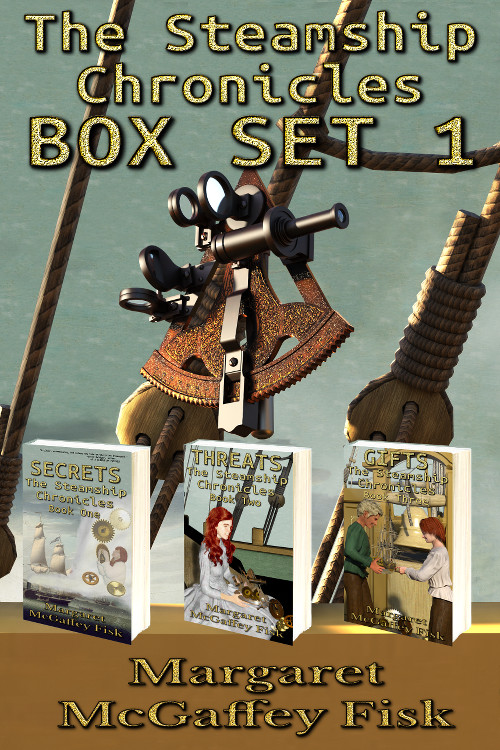 The Steamship Chronicles, Box Set 1: Secrets, Threats, and Gifts - Click for more information